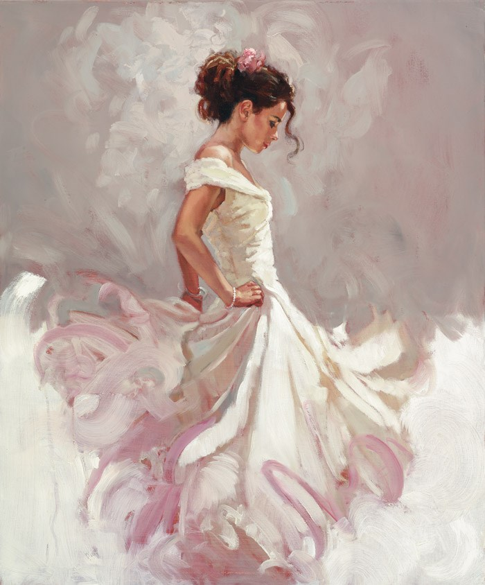 Bolero by Mark Spain - Hand Finished Limited Edition on Canvas sized 18x22 inches. Available from Whitewall Galleries